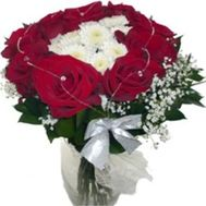 Букет в форме сердца №506 - цветы и букеты на flowers.ck.ua