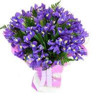 Букет ирисов №829 - цветы и букеты на flowers.ck.ua