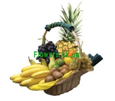 """""""Корзина с фруктами №608"""" в интернет-магазине цветов flowers.ck.ua"""