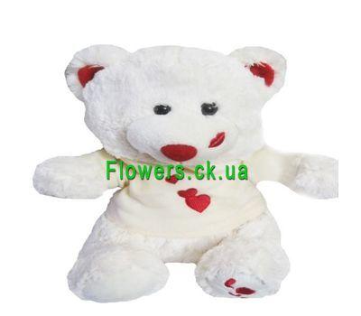 """""""Мягкая игрушка - Белый мишка №746"""" в интернет-магазине цветов flowers.ck.ua"""