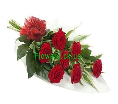 """""""Букет из красных роз №134"""" в интернет-магазине цветов flowers.ck.ua"""