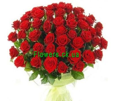 """""""Букет из красных роз №133"""" в интернет-магазине цветов flowers.ck.ua"""