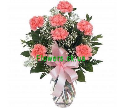 """""""Букет из гвоздик №209"""" в интернет-магазине цветов flowers.ck.ua"""