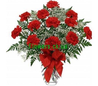 """""""Букет цветов из гвоздик №212"""" в интернет-магазине цветов flowers.ck.ua"""