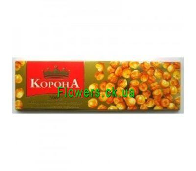 """""""Черный шоколад «Корона» с целыми лесными орехами"""" в интернет-магазине цветов flowers.ck.ua"""